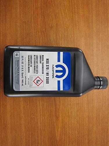 Mopar Chrysler Dodge Jeep Ram NSG 370/NV 3500 Manual Transmission Lubricant - Nv Transmission