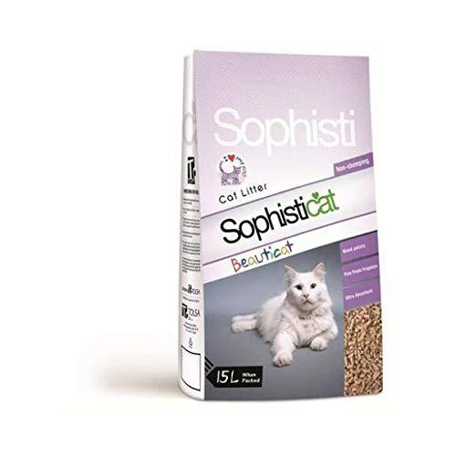 Sophisticat Beauticat Wood Cat Litter 15ltr ()