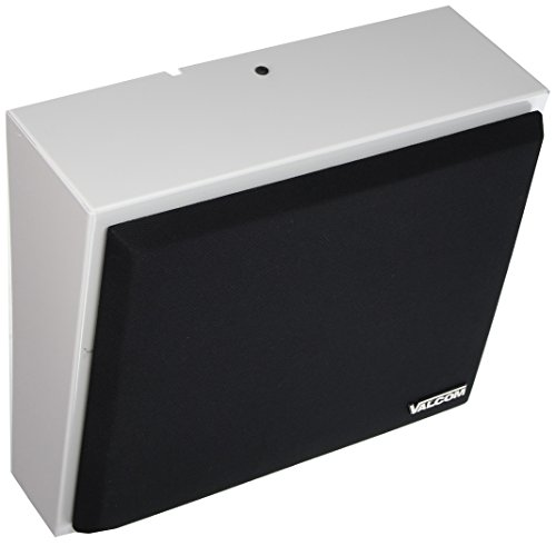 Valcom V-WTGY Talkback Wall Speaker with Volume Taps, 8-Inch