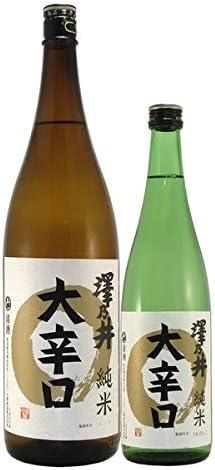 東京の日本酒 小澤酒造 澤乃井 純米大辛口 1.8L