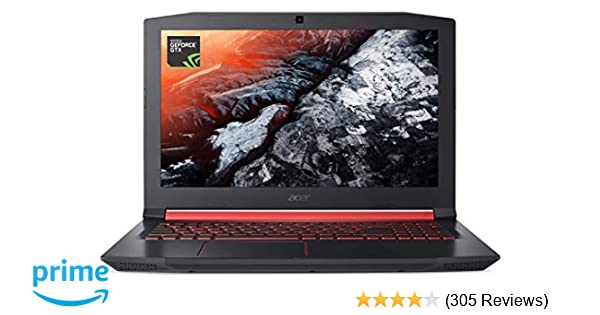 Acer Nitro 5 Gaming Laptop, Intel Core i5-7300HQ, GeForce GTX 1050 Ti,  15 6