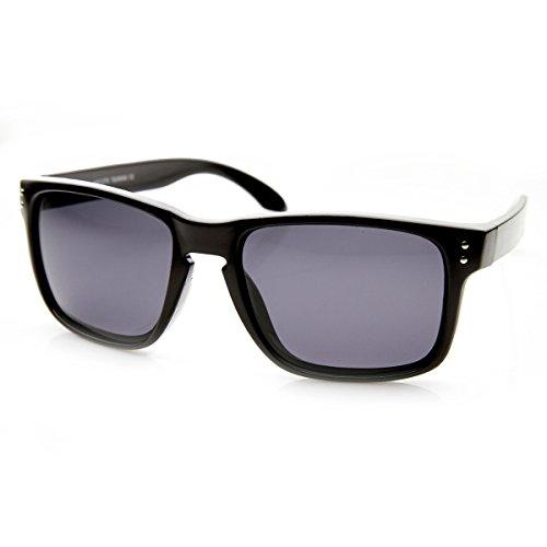zeroUV - Polarized Action Sport Rectangular Key Hole Bridge Sports Sunglasses