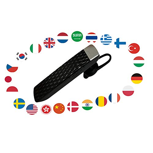 Smart Language Translator Bluetooth Translate Earbud 33 Languages Instant Translate for Travel and Business, Supporting HD Calling, Lock Screen Translation, Compatible with iPhone/Samsung/Android