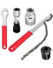 TOCYORIC Fiets Cassette Removal Tool - Multifunctionele fiets Reparatie Tool Set, Compatibel Chain Whip, Bottom Bracket Crank Trek,