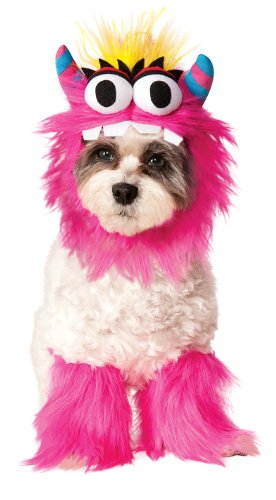 Matching Dog Costumes (Rubies Costume Company Monster Set Pet Costume, Large, Pink)