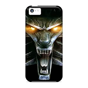 Hard Plastic Iphone 5c Case Back Cover,hot Video Games The Witcher Wolves Case At Perfect Diy