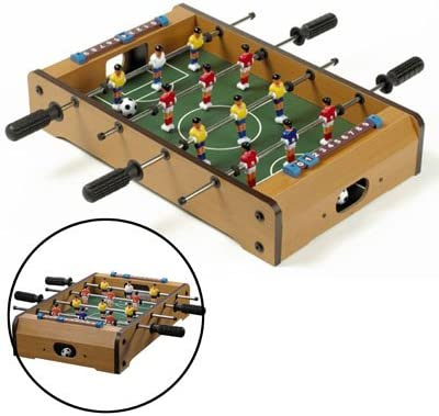 CHENZHIQIANG Intelligence Toys Great DIY Tabletop Football Game(Yellow)