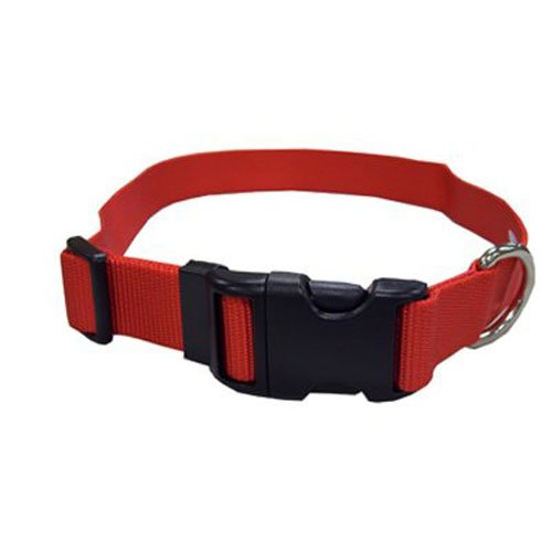 Coastal Pet 06901 A RED26 Adjustable Dog Collar, 1-Inch, Red