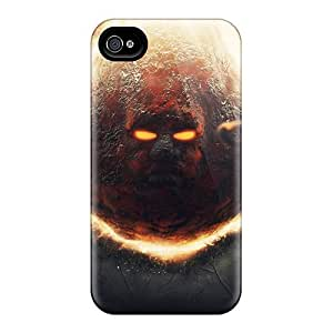 [ykFxOBI4734KXDxv]premium Phone Case For Iphone 4/4s/ Devil Tpu Case Cover