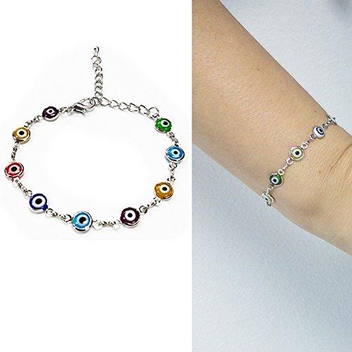 Turkish Kabbalah Sterling Silver Bracelet