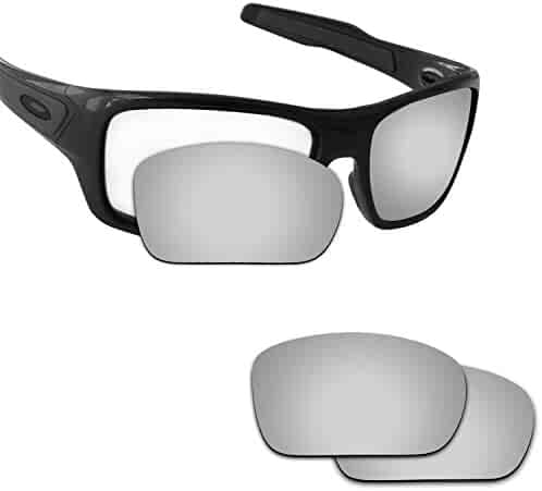 1a4e5dae07 Fiskr Anti-saltwater Polarized Replacement Lenses for Oakley Turbine  Sunglasses