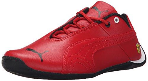 PUMA Future Cat SF JR Sneaker (Little Kid/Big Kid), Rosso Corsa/Rosso Corsa, 5.5 M US Big Kid (Puma Future Cat Casual)