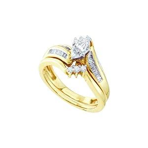 1/2 Total Carat Weight DIAMOND LADIES BRIDAL SET