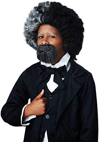 Notable Esteemed Statesmen Frederick Douglass Facial Beard &