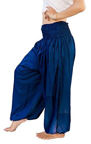siam-secrets-unisex-alibaba-harem-beach-yoga-pants-one-size-blue