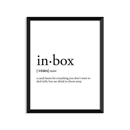 Inbox Definition   Unframed Art Print Poster Or Greeting Card