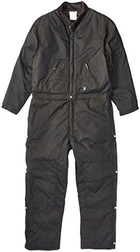 Carhartt Men's Big & Tall Arctic Quilt Lined Yukon Coveralls,Black,52 (Big And Tall Carhartt Coveralls)