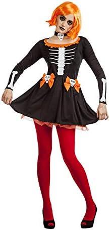Disfraz de Esqueleta Calabaza para Mujer: Amazon.es: Juguetes y juegos