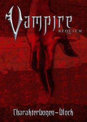 Requiem: Charakterbögen: Abreissblock mit 25 Charakterbögen zu Vampire: Requiem