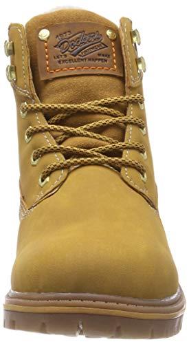 Amarillo golden Dockers Militar Tan 910 Para Hombre By 43ea101 Botas Gerli qxq6p8R