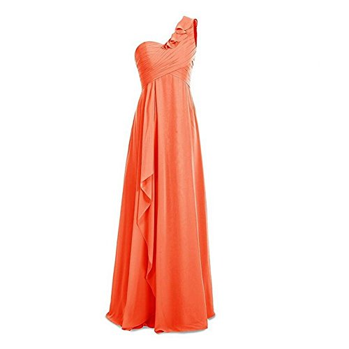 KA Beauty Orange Kleid Damen KA Beauty WrrSBOYq