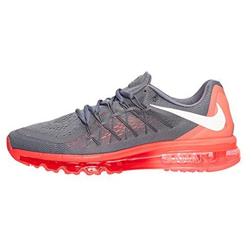 Nike Air Max 2015 Herren Laufsneaker Coole graue / heiße Lava / Bright Crimson / White