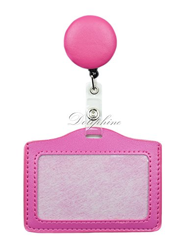 Horizontal Pink Leather - 8