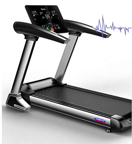 Direct-US-1 JANRMYKL Fitness Treadmill Folding Electric Walking Treadmill High Capacity Treadmill Exercise Trainer Equipment
