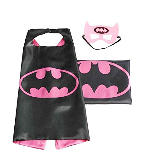 NEW Superhero PJ Masks Cape/Mask Set Batwoman Kids Costume Party (batwoman) (Super Hero Costume Idea)