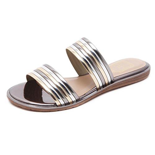 zapatos de de una sandalias zapatos Nuevos planos tendón mujer de de con carne zapatillas medias champagne palabra verano UwdgqF