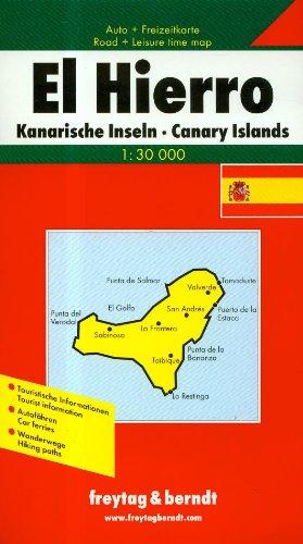 El Hierro. Auto- und Wanderkarte. 1 : 30 000: Road Map (Englisch) Landkarte – Folded Map, 2005 Klaus Wolfsperger FREYTAG-BERNDT und ARTARIA KG 3850848671 Europa