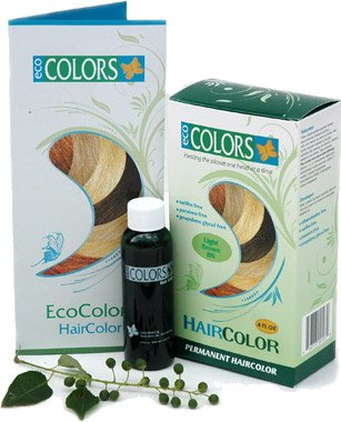 Brown Black 2n Kit (EcoColors Haircolor Black 2N(2 oz color 2 oz developer))