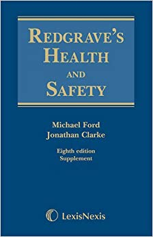 Redgrave's Health and Safety: Redgrave's Health and Safety Second Supplement