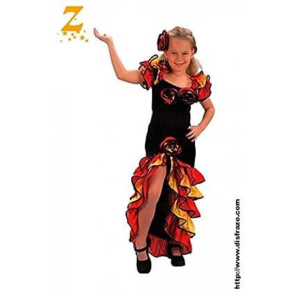 Disfraz Rumbera Infantil T. 10-12