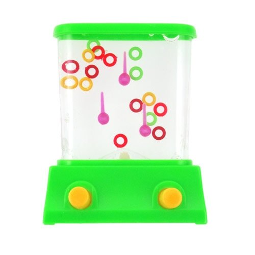 Handheld Water Game - Rings (Colors May (Vintage Handheld Electronic Games)