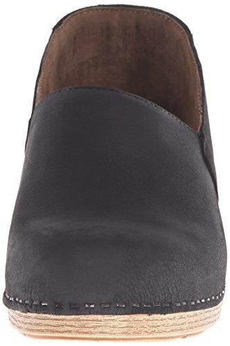 Dansko Milled Nubuck Mavis Mule Black rqprw