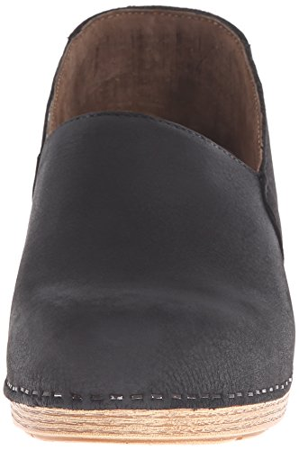 Mule Black Nubuck Milled Mavis Dansko S5F7xvF
