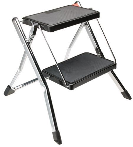 Polder 90401-91H 2-Step Mini-Stool (Chrome)