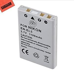 BM Premium EN-EL5 Battery for Nikon Coolpix Digital Cameras