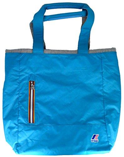 Hombro Al Azul K way Multicolor Bolso Varios Para Claro Mujer Colores tqpwpEU