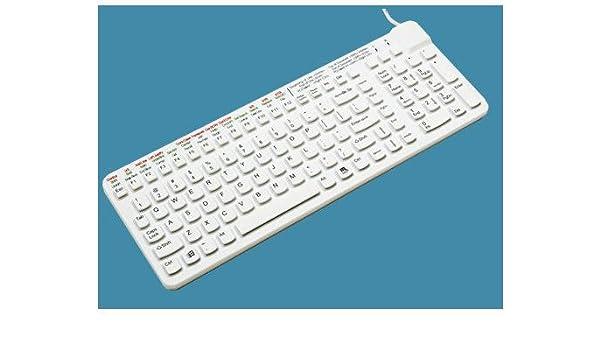 Man & Machine Really Cool MEDITECH - Teclado (USB, QWERTY, Inglés, PC/server, Estándar, Derecho): Amazon.es: Informática