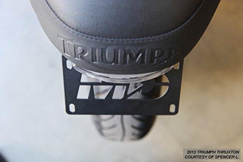 Fender Eliminator Tidy Tail Triumph Scrambler Bonneville Thruxton with LED Tail Light Clear
