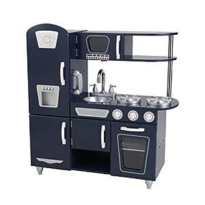 Amazon.com: KidKraft Navy Vintage Kitchen Toy: Toys & Games