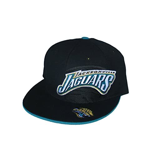 hot Jacksonville Jaguars Fitted Size 8 LOGO PLUS Black Hat Cap hot sale