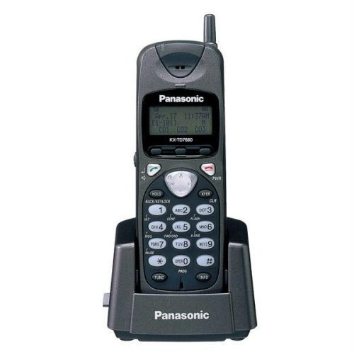 Panasonic KX-TD7680 2.4GHz Wireless Phone (Renewed) ()