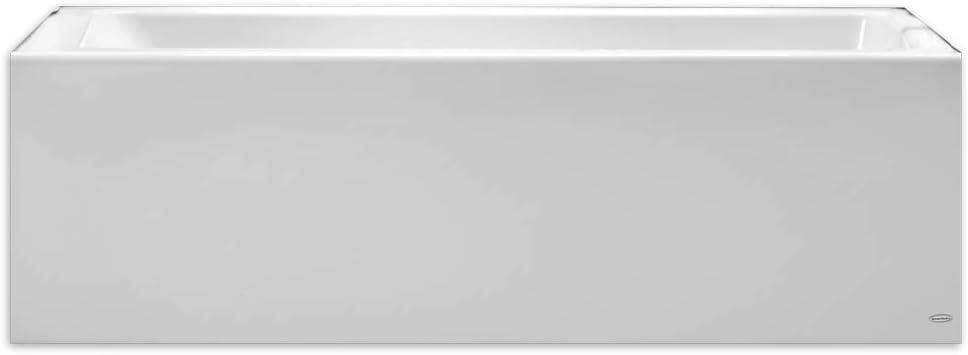 American Standard 2946202.011 Studio 60 Inch by 32 Inch Bathtub with Apron - Left Drain, Arctic