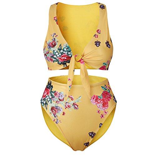 RAFAGO Sexy Sexy Beach RAFAGO Yellow Swimsuit Swimsuit Beach dzZnxz