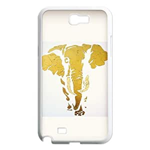 elephant 2015 hot Phone Case For Samsung Galaxy Note 2 Case TPUKO-Q756535