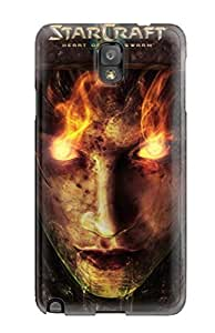 Excellent Galaxy Note 3 Case Tpu Cover Back Skin Protector Starcraft 2 Heart Of The Swarm