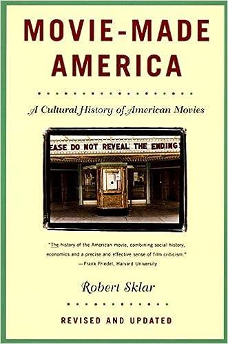Movie Made America A Cultural History Of American Movies Sklar Robert 9780679755494 Amazon Com Books
